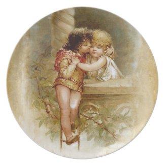 Frances Brundage: Romeo and Juliet plate