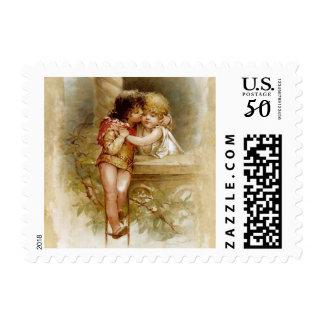 Frances Brundage: Romeo and Juliet Postage