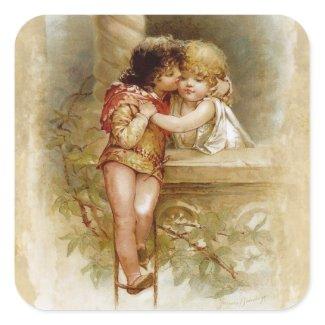 Frances Brundage: Romeo and Juliet sticker