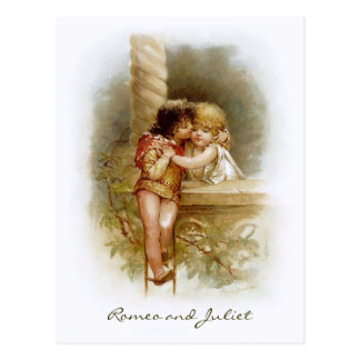 Frances Brundage: Romeo y Juliet Tarjeta Postal