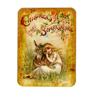 Frances Brundage: The Children's Shakespeare Rectangular Photo Magnet