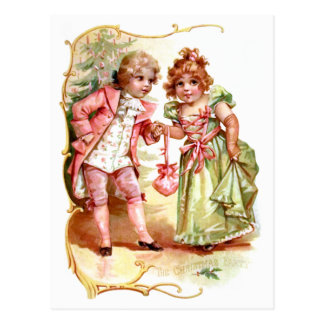 Frances Brundage: The Christmas Party Postcard