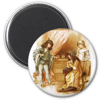 Frances Brundage: The Merchant of Venice 2 Inch Round Magnet