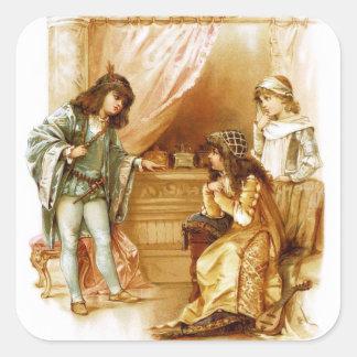 Frances Brundage: The Merchant of Venice Square Sticker