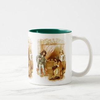 Frances Brundage: The Merchant of Venice Two-Tone Coffee Mug