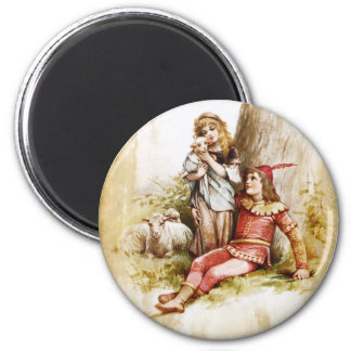 Frances Brundage: The Winter's Tale 2 Inch Round Magnet