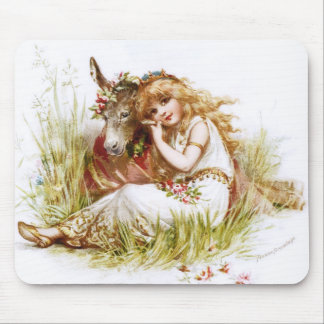 Frances Brundage: Titania and the Clown Mouse Pad
