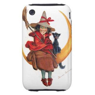 Frances Brundage: Witch on Sickle Moon iPhone 3 Tough Case