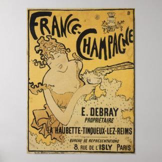 Francés Champán Impresiones