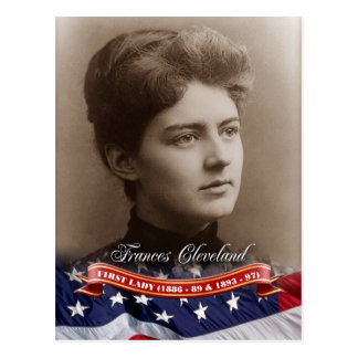 Frances Cleveland, First Lady of the U.S. Postcard