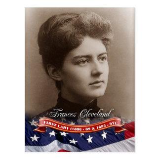 Frances Cleveland, primera señora de los E.E.U.U. Tarjetas Postales