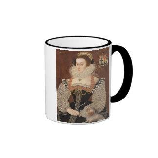 Frances Clinton, Lady Chandos (1552-1623) 1579 (oi Ringer Coffee Mug