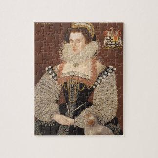 Frances Clinton, Lady Chandos (1552-1623) 1579 (oi Puzzle