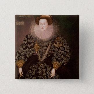 Frances Clinton, Lady Chandos , 1589 Button