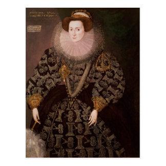 Frances Clinton, Lady Chandos , 1589 Postcard
