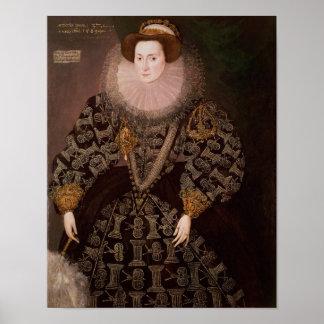 Frances Clinton, Lady Chandos , 1589 Poster