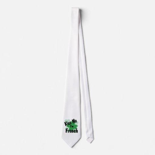 francés corbatas