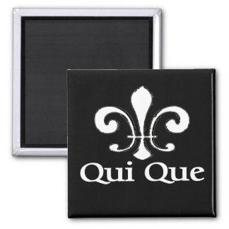 Francés de Cajun que Dat Imán Cuadrado
