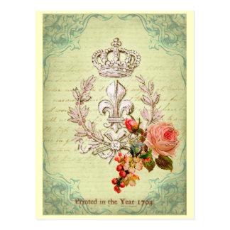 Francés del vintage tarjetas postales