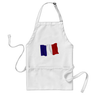 francés delantal