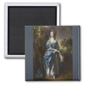Frances Duncmbe 2 Inch Square Magnet
