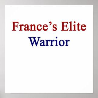 France's Elite Warrior Poster