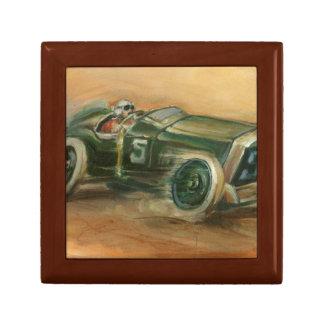 Francés Grand Prix Racecar de Ethan Harper Joyero Cuadrado Pequeño