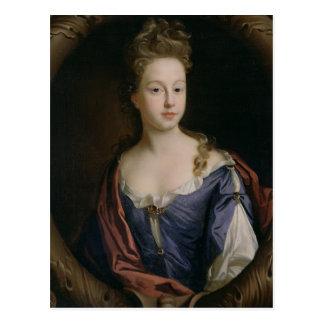 Frances Hales, c.1680-90 (oil on canvas) Postcard