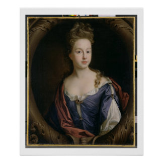 Frances Hales, c.1680-90 (oil on canvas) Poster