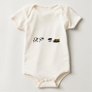 Frances las ovejas negras mameluco de bebé