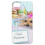 Francés Macarons de Yorkie iPhone 5 Funda