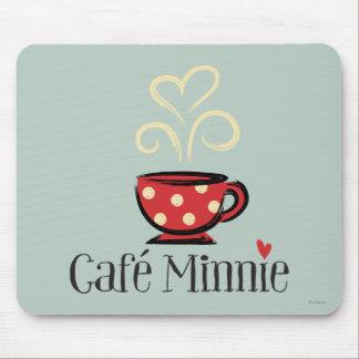 Francés Mickey el | Café Minnie Alfombrillas De Ratón