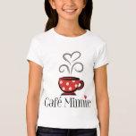 Francés Mickey el | Café Minnie Playera