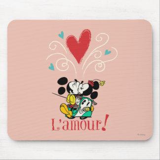 Francés Mickey el | L'amour Alfombrillas De Raton