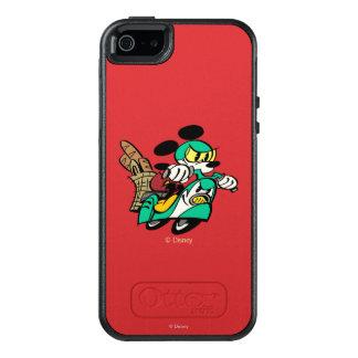 Francés Mickey el | que compite con en Vespa Funda Otterbox Para iPhone 5/5s/SE