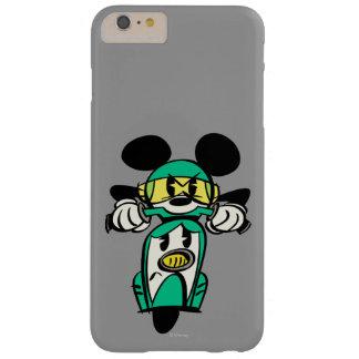 Francés Mickey el | todo derecho en Vespa Funda De iPhone 6 Plus Barely There
