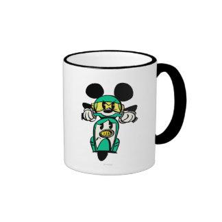 Francés Mickey el | todo derecho en Vespa Taza De Dos Colores