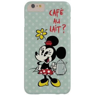 Francés Minnie el | Minnie con la tetera Funda De iPhone 6 Plus Barely There