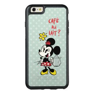 Francés Minnie el | Minnie con la tetera Funda Otterbox Para iPhone 6/6s Plus