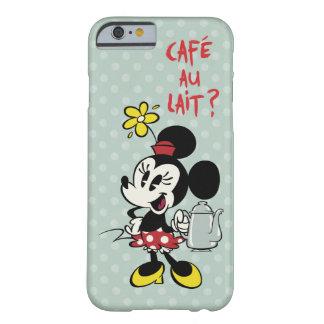 Francés Minnie el | Minnie con la tetera Funda Para iPhone 6 Barely There