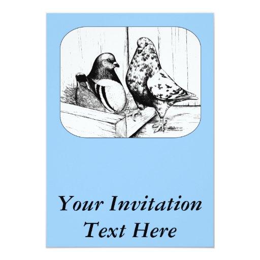 """Francés Mondains 1981 Invitación 5"""" X 7"""""""