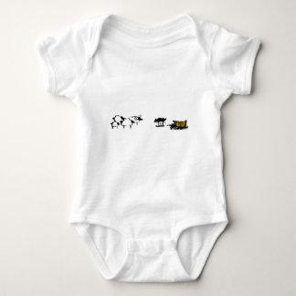 Frances the Black Sheep Baby Bodysuit