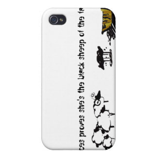 Frances the Black Sheep Cases For iPhone 4