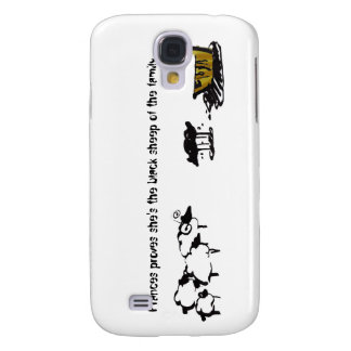 Frances the Black Sheep Galaxy S4 Cases