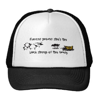 Frances the Black Sheep Trucker Hat
