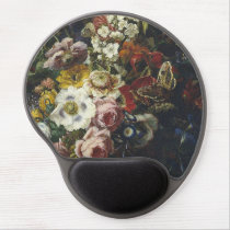 Francesc Lacoma Fontanet - Vase with flowers Gel Mouse Pad