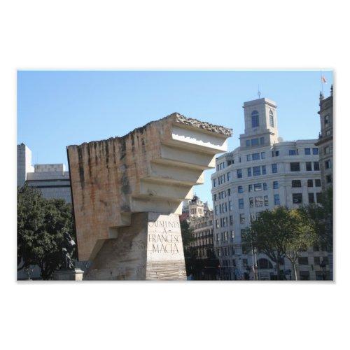 Francesc Macià monument, Barcelona