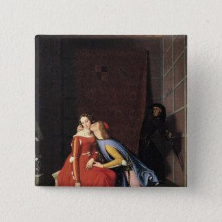 Francesca da Rimini and Paolo Malatesta, 1819 Pinback Button