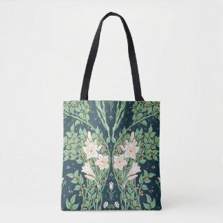 Francesca wallpaper design tote bag