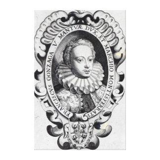 Francesco Gonzago, Duke of Mantua and Marquess Canvas Print